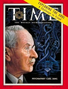 Jung on Cover of Time, Feb. 14, 1955