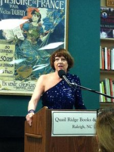 Peggy Payne speaking